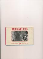 Carnet De 10 Cartes De MEGEVE (  Les Premières Cartes Se Détachent Du Carnet ) - Megève