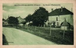 CPA - CHATILLON S/SAONE - LA ROUTE D'ENFONVELLE ... - France