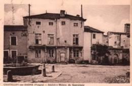 CPA - CHATILLON S/SAONE - ANCIENNE MAISON Du GOUVERNEUR ... - France