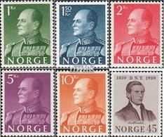 Norvège 428x-432x,433 (complète.Edition.) Oblitéré 1959 King Olaf V., Abstinenz - Usati