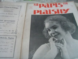 PARIS PLAISIRS /BERGER /LEGRAND/VELY/SERGY /LEDA TADE STYKA /BRISE BASQUE V.HOUDEIL /J.KUHN REGNIER - Livres, BD, Revues