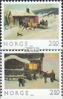 Norwegen 894Du-895Du (kompl.Ausg.) Postfrisch 1983 Weihnachten - Norwegen