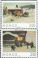 Norwegen 894Do-895Do (kompl.Ausg.) Postfrisch 1983 Weihnachten - Norwegen