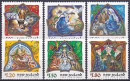 Neuseeland New Zealand 1999 Religion Christentum Weihnachten Christmas Geben Giving Gott God, Mi. 1793-8 ** - Neuseeland
