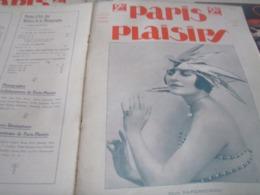 PARIS PLAISIRS /NAPIERKOWSKA /SUZY BERIL /KUHN REGNIER /JEAN CHAPERON /TANOUX/DALTHY VAN DUREN SOEURS GUY - Livres, BD, Revues