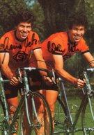 7010 CP Cyclisme Heinz Et Werner Betz Dédicacée - Cyclisme
