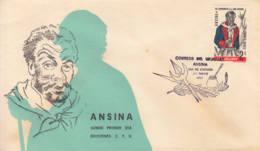 URUGUAY -  1967 - FDC -  Ansina - Uruguay