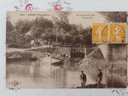 Corre Le Canal De L'est écluse 46 Haute Saône Franche Comté - France