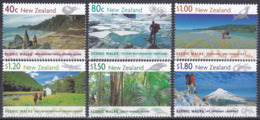 Neuseeland New Zealand 1999 Landschaften Landscapes Wandern Hiking Scenic Walks Strände Taranaki, Mi. 1787-2 ** - Neuseeland