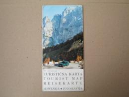 Slovenia / Jugoslavija / Turistička Karta - Tourist Map / 1: 470 000 , 1973 - Cartes Géographiques