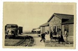 L'Ile De Ré - Gare De Sablanceau-Rivedoux (autobus LATIL Type VD) Photo Ramutcho, N° 5227 - Circ Sans Date, Sous Envelop - Ile De Ré