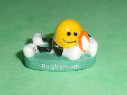 Fèves / Sports : Rugbyman , 2017 , Smiley World      T16 - Sports