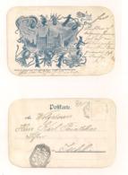 AK Heilruf Aus Dem Deutschen Graz - 17.10.1898 ? - Echt Gelaufen - Briefmarke Ist Entfernt - Graz