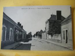 49 5818 CPA - 49 NOYANT. ROUTE DE SAUMUR. EDIT. LEBOUC - Autres Communes
