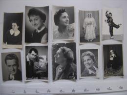 Lot 5 PHOTO Artistes Varietes Theatre Opera Spectacle Cabaret Music Hall DIJON - Célébrités