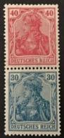 1920 Germania S21*) - Zusammendrucke
