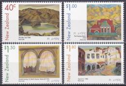Neuseeland New Zealand 1999 Kunst Arts Kultur Culture Gemälde Paintings Doris Lusk Seen Lakes Venedig, Mi. 1782-5 ** - Neuseeland