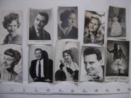 Lot 7 PHOTO Artistes Varietes Theatre Opera Spectacle Cabaret Music Hall DIJON - Célébrités