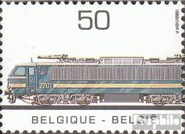 Belgien 2226 (kompl.Ausg.) Postfrisch 1985 Elektrolokomotive - Belgien