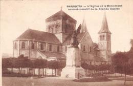 BARENTIN - L'Eglise Et Le Monument Commémoratif De La Grande Guerre - Barentin