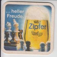 AUSTRIA ZIPFER URTYP CHESS BEER MAT - Portavasos