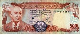 Afghanistan 1977 500 Afghanis  EF   Voir Explications - Afghanistan