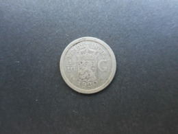 Netherlands East Indies 1/10 Gulden 1920 Wilhelmina - Indonesia