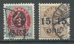 Danemark YT N°41/42 Oblitéré ° - 1864-04 (Christian IX)