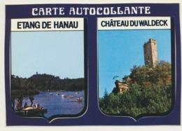 Sticker Aufkleber Autocollant Etang De Hanau Chateau Du Waldeck - Pegatinas