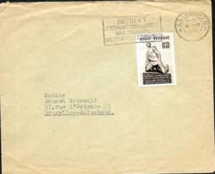 Belgique. TP 860  L. Antwerpen 1 > Molenbeek 1952 - Belgique