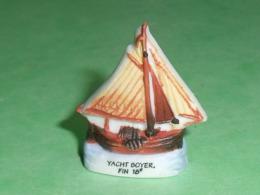 "Fèves / Sports : Bateau , Yacht Boyer  "" Mat ""  Feve Plate   T16 - Sports"