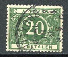 BE   TX14   Obl   ---   TB - Briefmarken