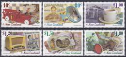 Neuseeland New Zealand 1999 Jahrtausendwende Millennium Spielzeug Toys Kaffee Coffee Nostalgie, Mi. 1751-6 ** - Neuseeland