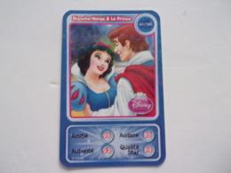 Carte Disney AUCHAN Blanche-Neige Et Le Prince - Autres Collections