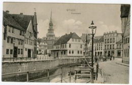 Stade Fischmarkt Postcard Germany - Stade