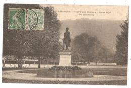 25 - BESANCON - Promenade Chamars - Statue Pajol - Fort Chaudanne - Besancon