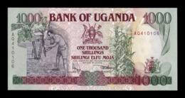 Uganda 1000 Shillings 1991 Pick 34a SC UNC - Uganda