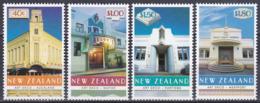Neuseeland New Zealand 1999 Kunst Arts Architektur Architecture Bauwerke Buildings Art-Deco Theater Hotel, Mi. 1747-0 ** - Nuova Zelanda