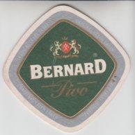 CZECHIA BERNARD NON ALCOHOLIC LAGER BEER MAT - Beer Mats