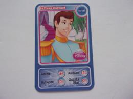 Carte Disney AUCHAN Le Prince Charmant Princesse - Autres Collections