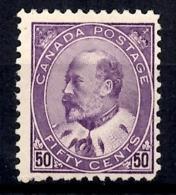 Canada YT N° 84 Neuf *. Gomme D'origine. B/TB. A Saisir! - 1903-1908 Edward VII