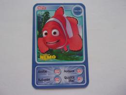 Carte Disney AUCHAN  Marin Le Monde De Nemo - Autres Collections