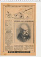 2 Scans Presse 1952 Proffesseur Perrier (Louis Vergèze Gard) Bouteilles Bateau-école Jeanne D'Arc 226CH12 - Vieux Papiers