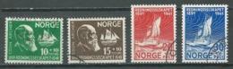 Norvège YT N°208/211 Société De Sauvetage Des Naufragés Oblitéré ° - Norvège