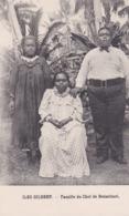 Océanie > Kiribati ISLAND - ILES GILBERT Famille Du Chef De Butaritari - Kiribati
