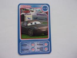 Carte Disney AUCHAN  Cars Bob Finelame Auto Carro Car Voiture - Autres Collections