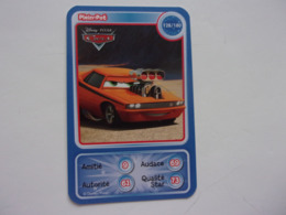 Carte Disney AUCHAN  Cars Plein-pot Auto Carro Car Voiture - Autres Collections
