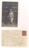 AK Liebesengel  - Um 1916 ? - Echt Gelaufen - Cartes Postales