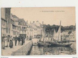 56 BELLE ISLE EN MER LE PORT DE PALAIS CPA BON ETAT - Belle Ile En Mer