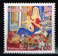 Bund 2001,Michel# 2226 O EM Aus Block 56 - [7] Federal Republic